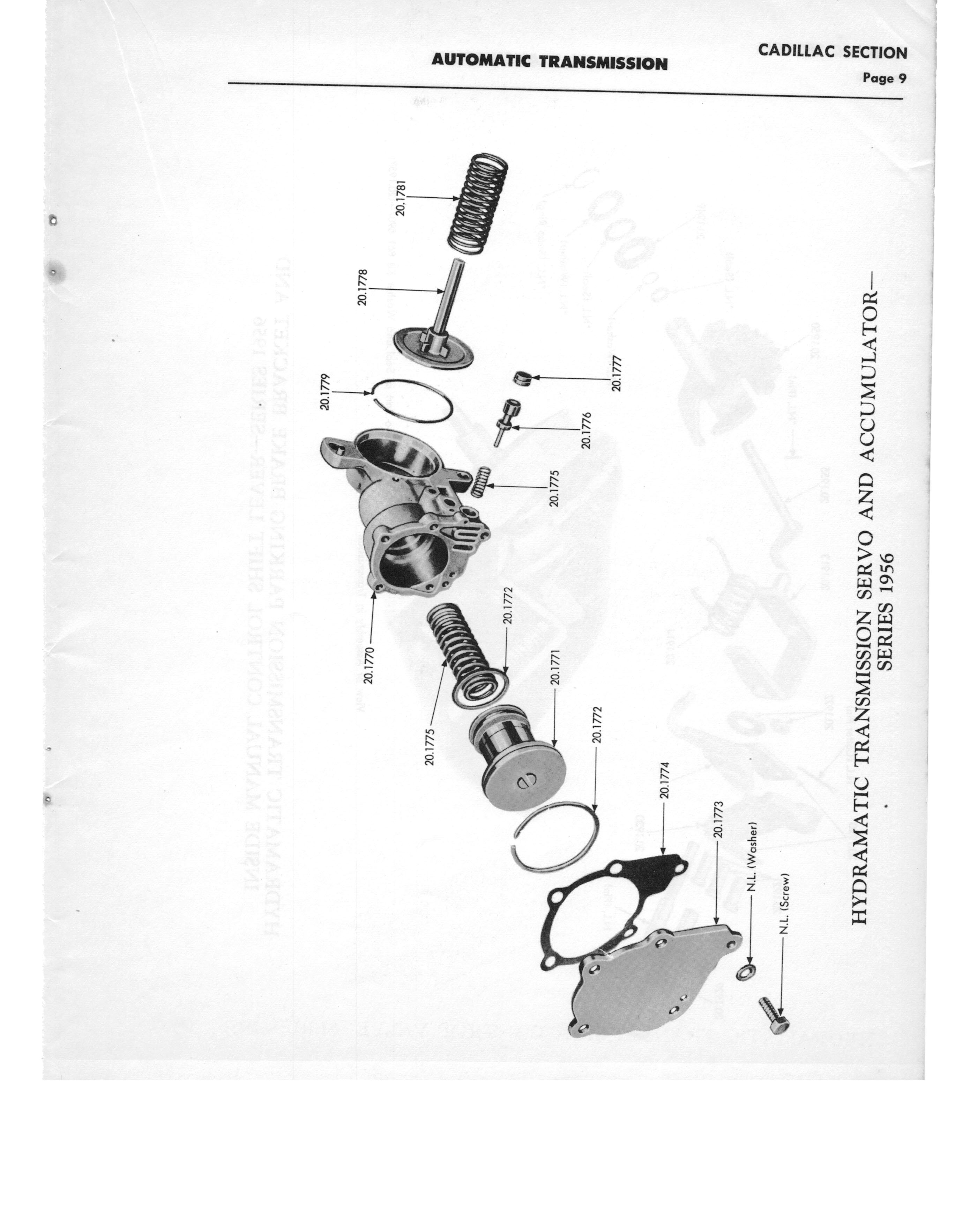 Gm Automatic Transmission Parts Catalog Supplement To A Page 15 Of 97