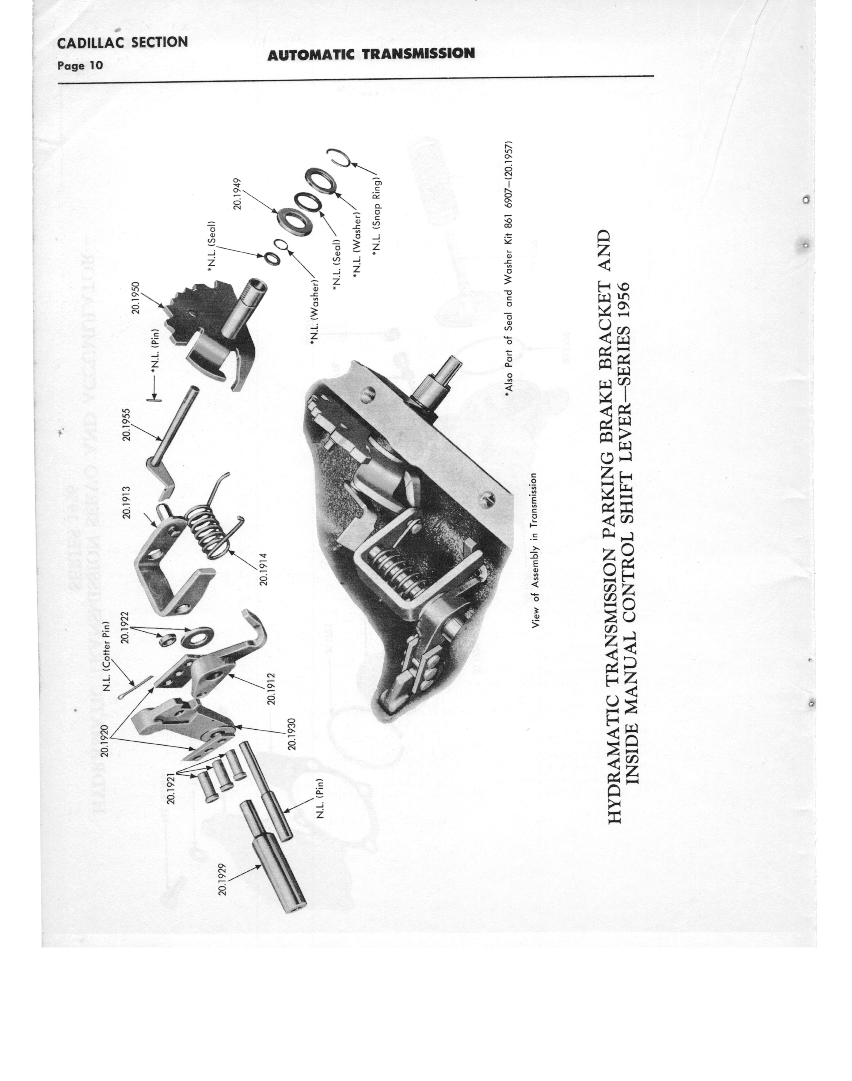 Gm Automatic Transmission Parts Catalog Supplement To A Page 16 Of 97