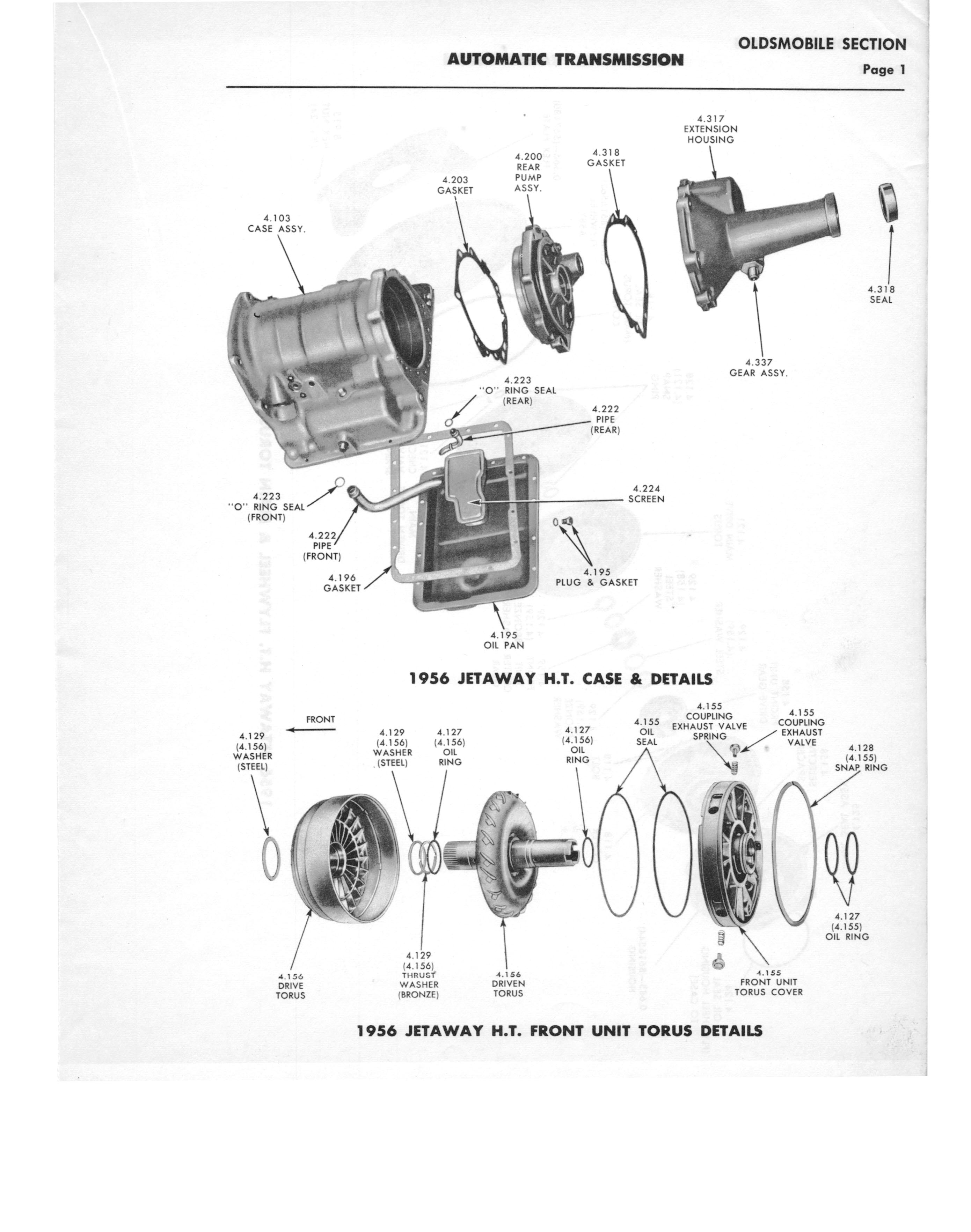 Gm Automatic Transmission Parts Catalog Supplement To A Page 31 Of 97