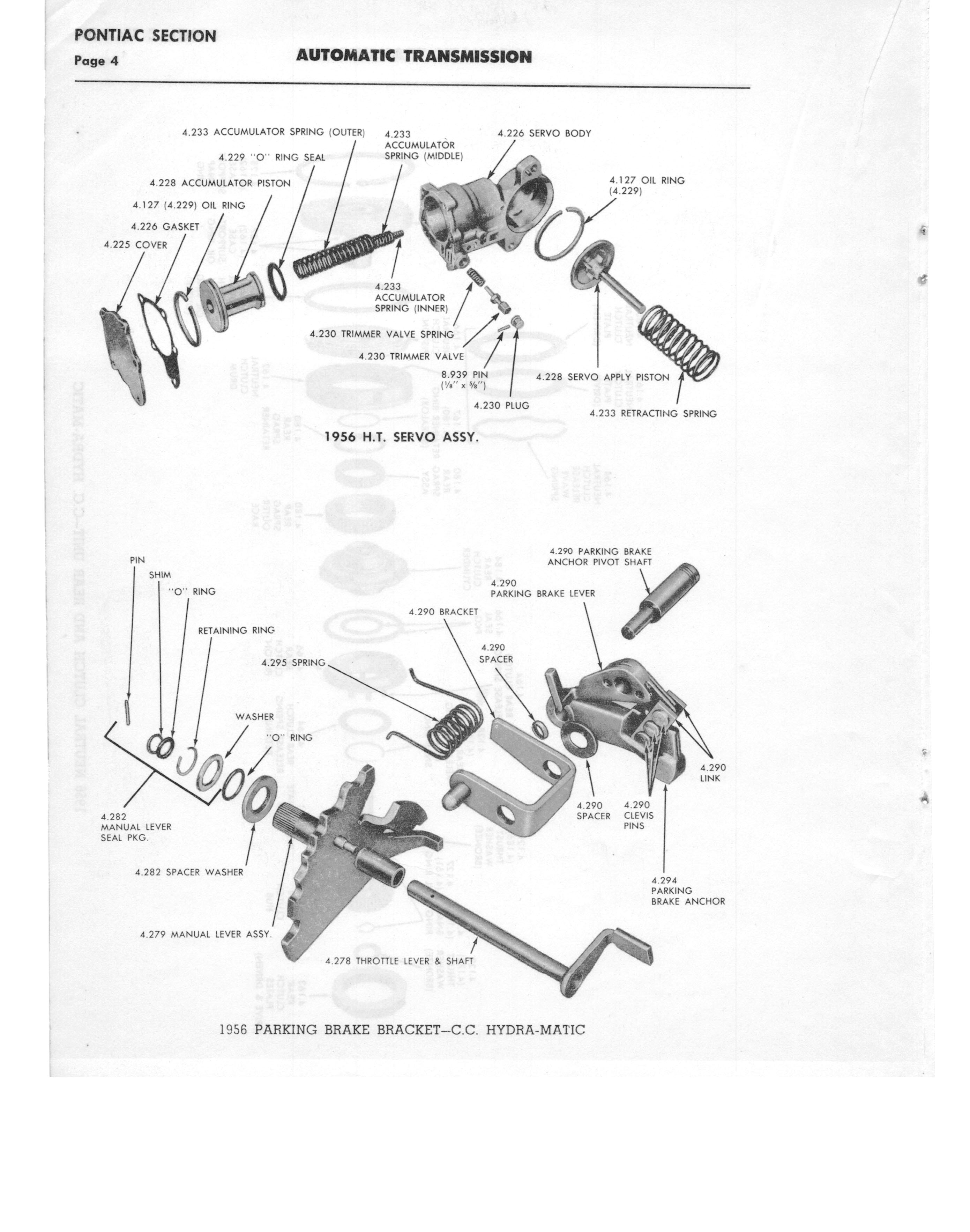 Gm Automatic Transmission Parts Catalog Supplement To A Page 52 Of 97