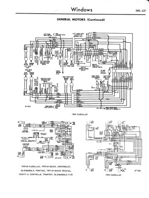 19571965 Accessory Wiring Diagrams  3WD427jpg