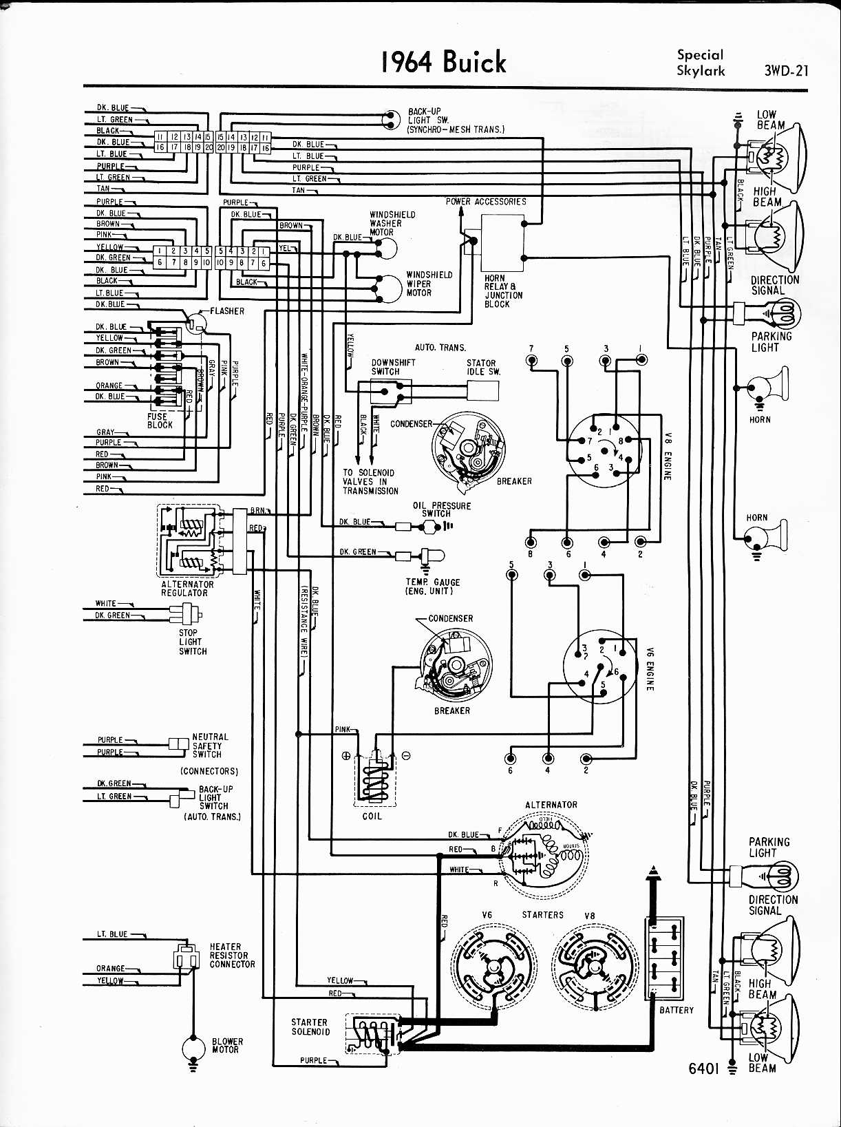 Skylark Wiring Diagrams