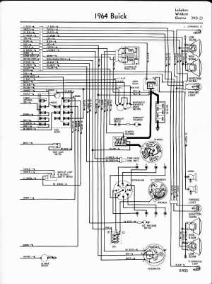 Buick Wiring Diagrams: 19571965