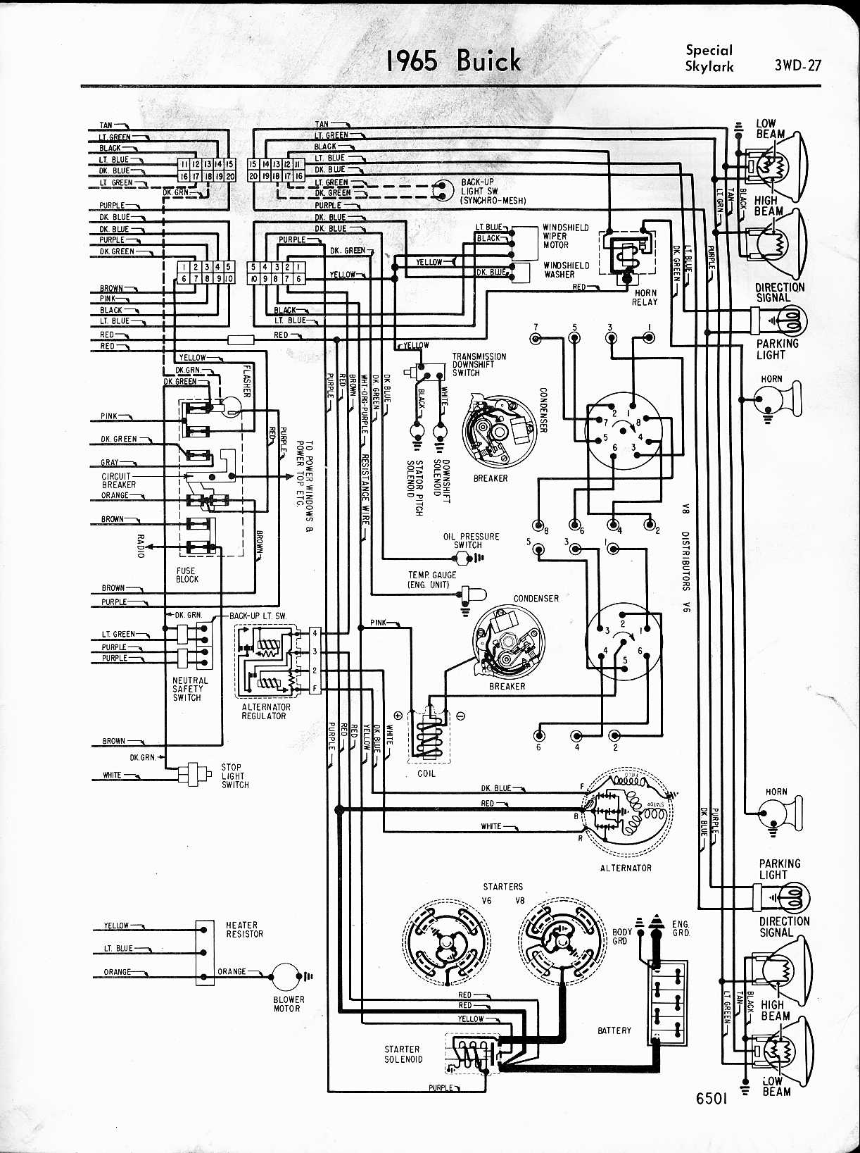 Skylark Wiring Diagram
