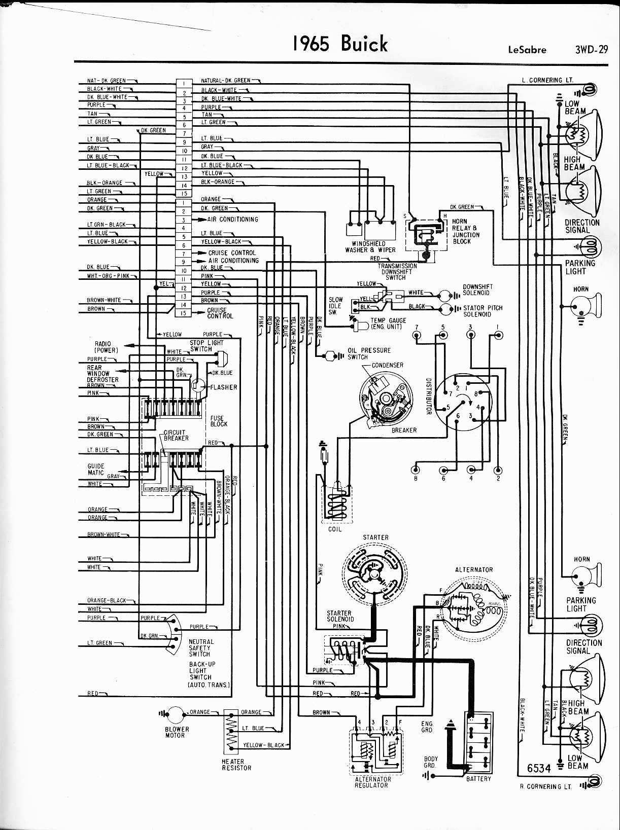 Chevy El Camino Wiring Diagram