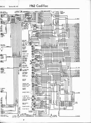 Cadillac Wiring Diagrams: 19571965
