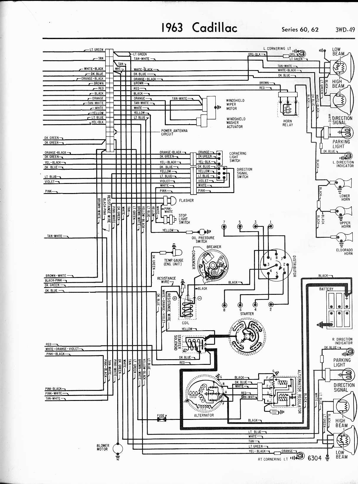 Cadillac Ignition Wiring
