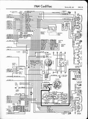 Cadillac Wiring Diagrams: 19571965