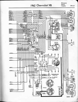 57  65 Chevy Wiring Diagrams
