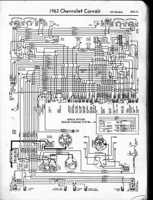 57  65 Chevy Wiring Diagrams