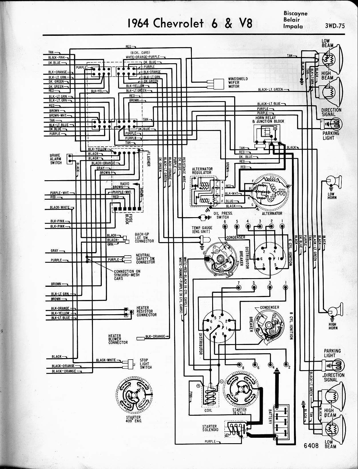 64 impala alternator wiring diagram 64 wiring diagrams online description 64 c10 wiring diagram nilza net on 64 impala tail light wiring diagram