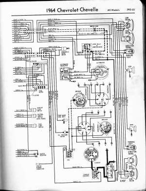 57  65 Chevy Wiring Diagrams