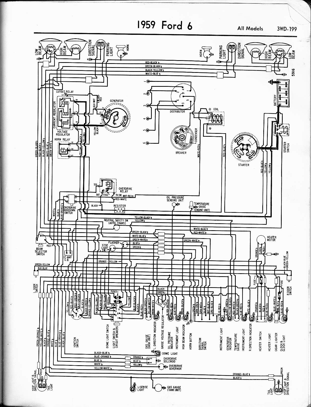 Ford F100 Wiring Diagram