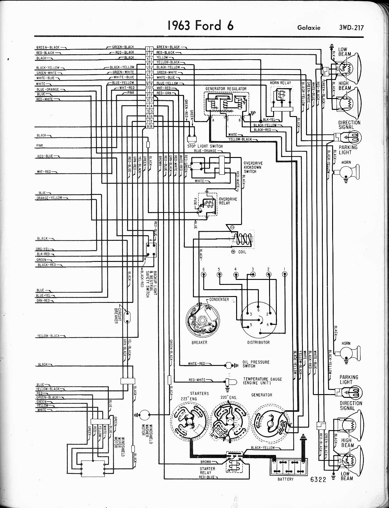 Wrg 66 Ford Fairlane Wiring Diagrams Regulator