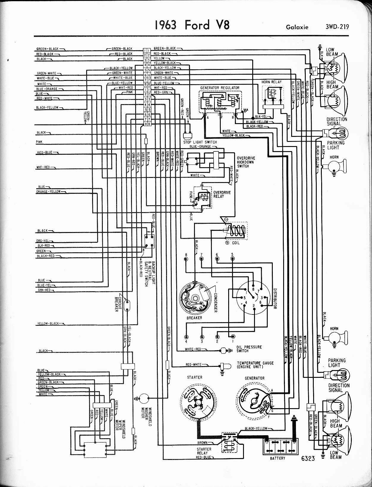 Galaxie Wiring Diagram