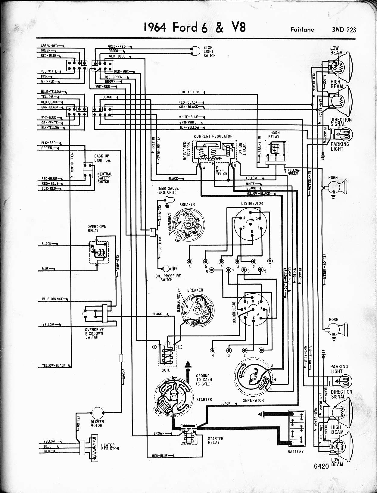 MWire5765 223?resize=665%2C869 ford truck wiring schematics ford truck wiring diagrams flathead,Wiring Schematic For 1963 Ford F 100