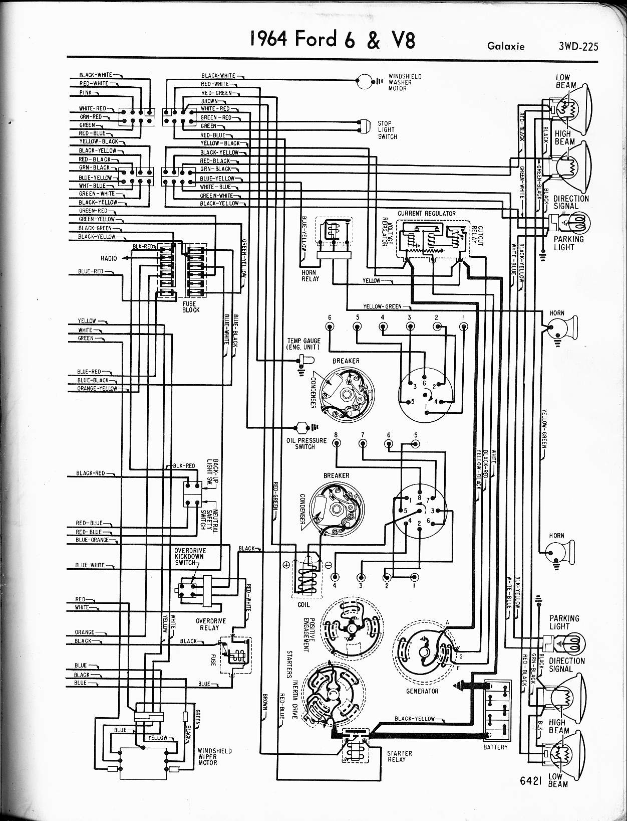 Mercury Sable G Fuse Box Diagram