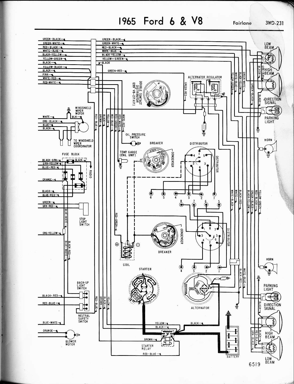 [DIAGRAM] 1967 Mustang Steering Column Wiring Diagram FULL