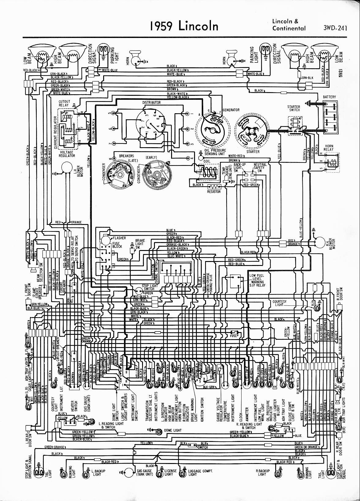 Lincoln Town Car Wiring Diagram