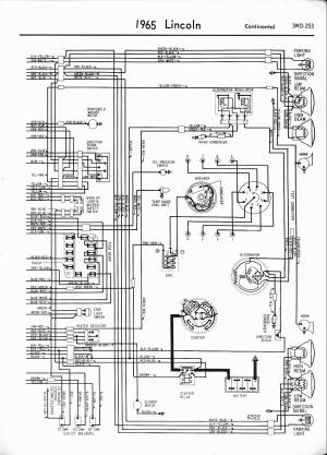 Lincoln Wiring Diagrams: 1957  1965