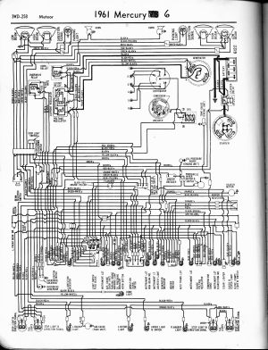 Mercury wiring diagrams  The Old Car Manual Project
