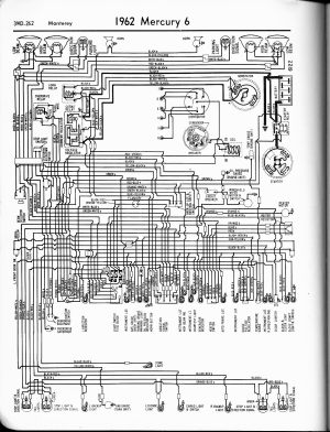 1965 Mercury Alternator Wiring Diagram | automotive wiring