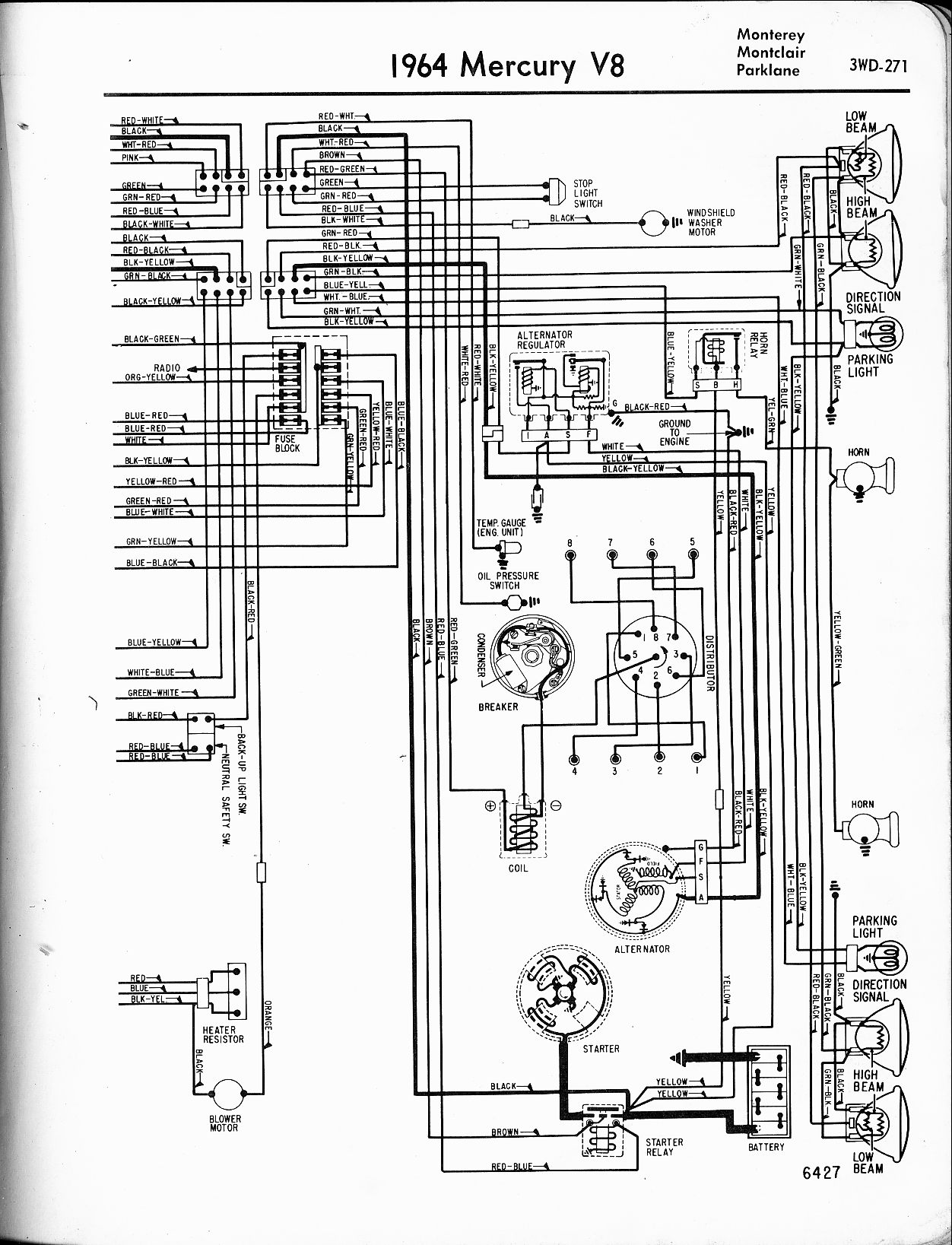 Fuel Gauge Wiring Diagram In Addition Ford Alternator