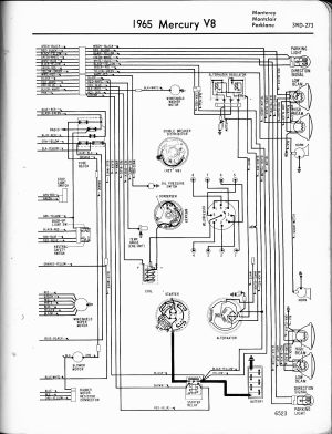 68 mercury cougar: wire diagramthe coil,water temp