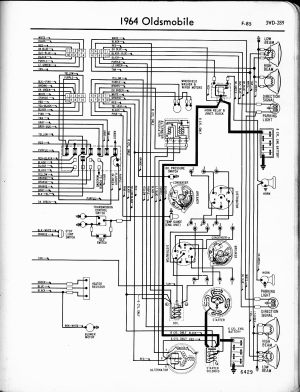 Oldsmobile wiring diagrams  The Old Car Manual Project