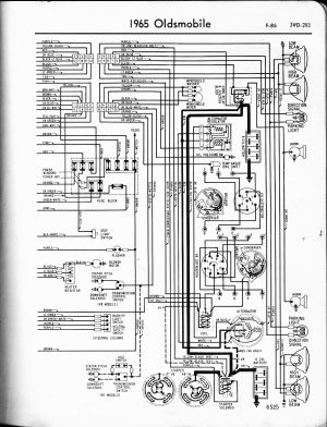 wiring diagramschematic | 1965 Oldsmobile 442 Forum
