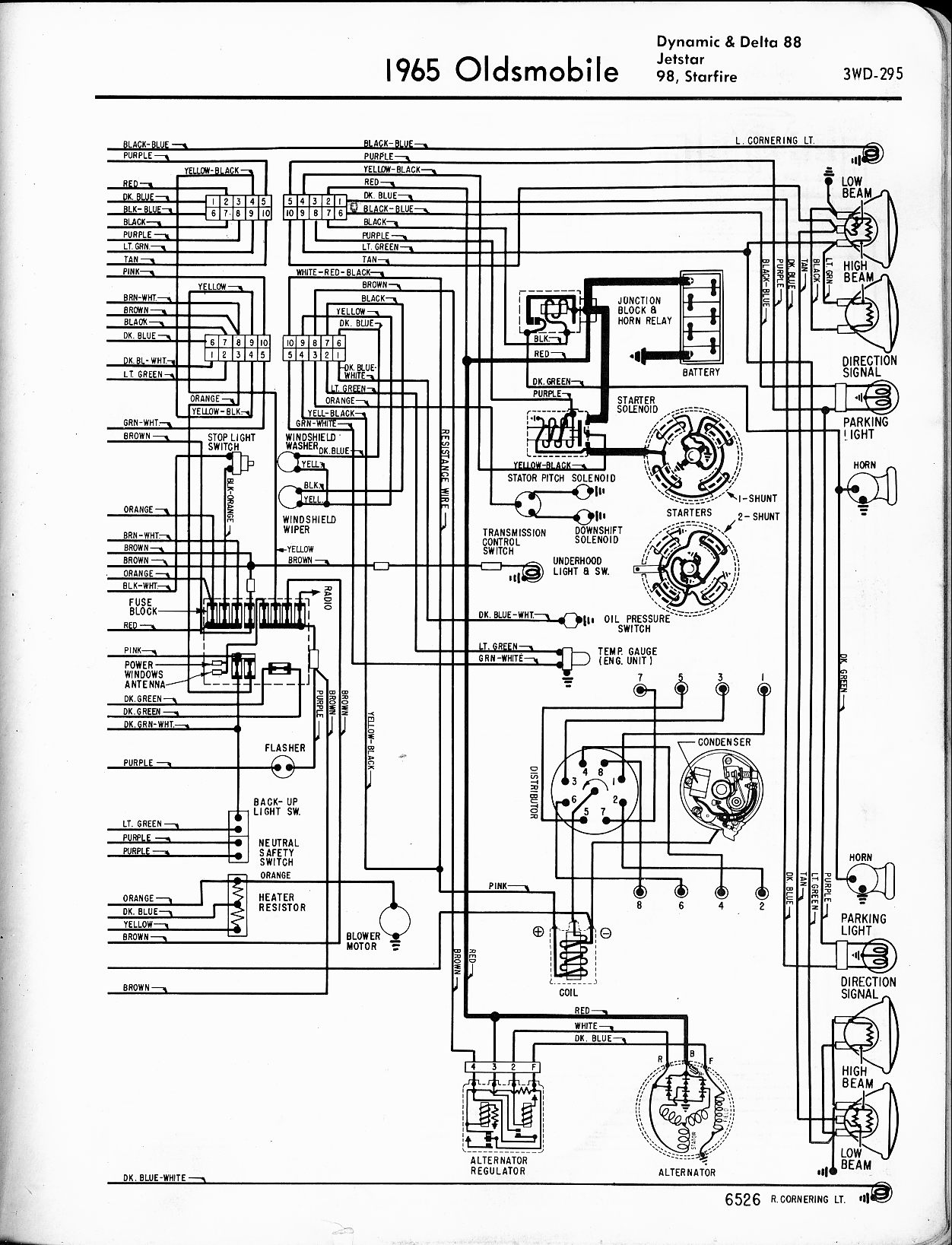 Oldsmobile Wiring Diagrams