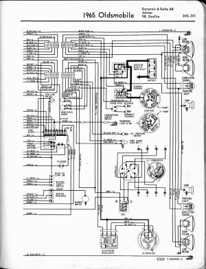 Oldsmobile wiring diagrams  The Old Car Manual Project