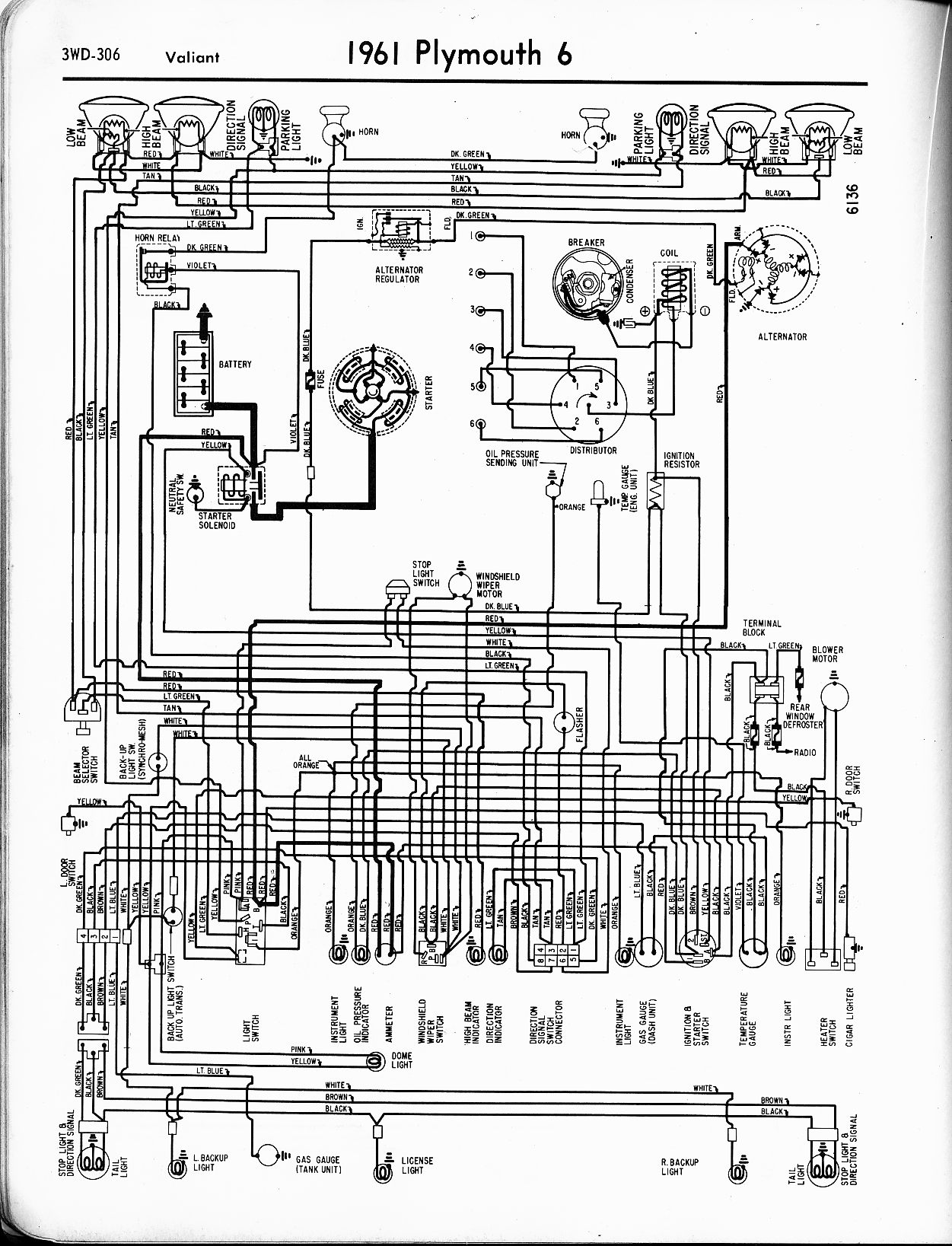 wiring diagrams of 1962 plymouth 6 valiant wiring diagram data