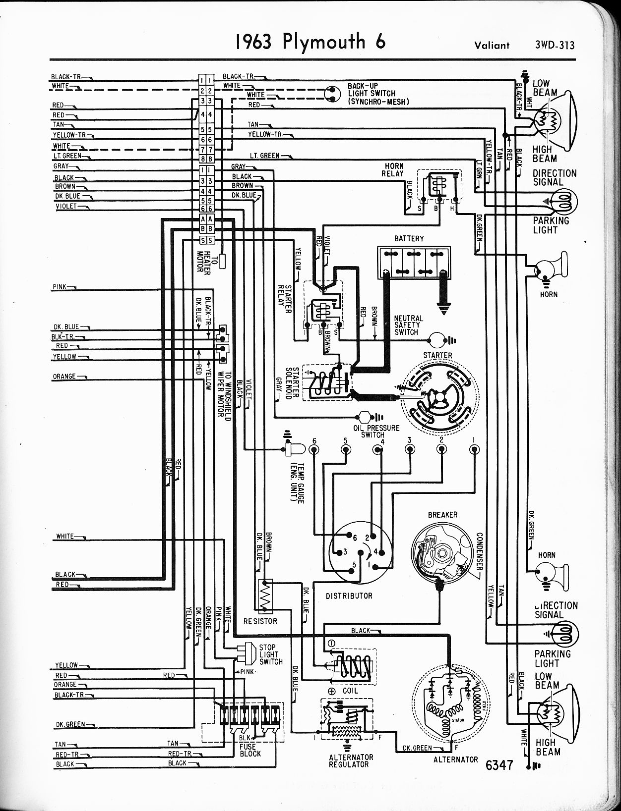 68 Roadrunner Wiring Diagram