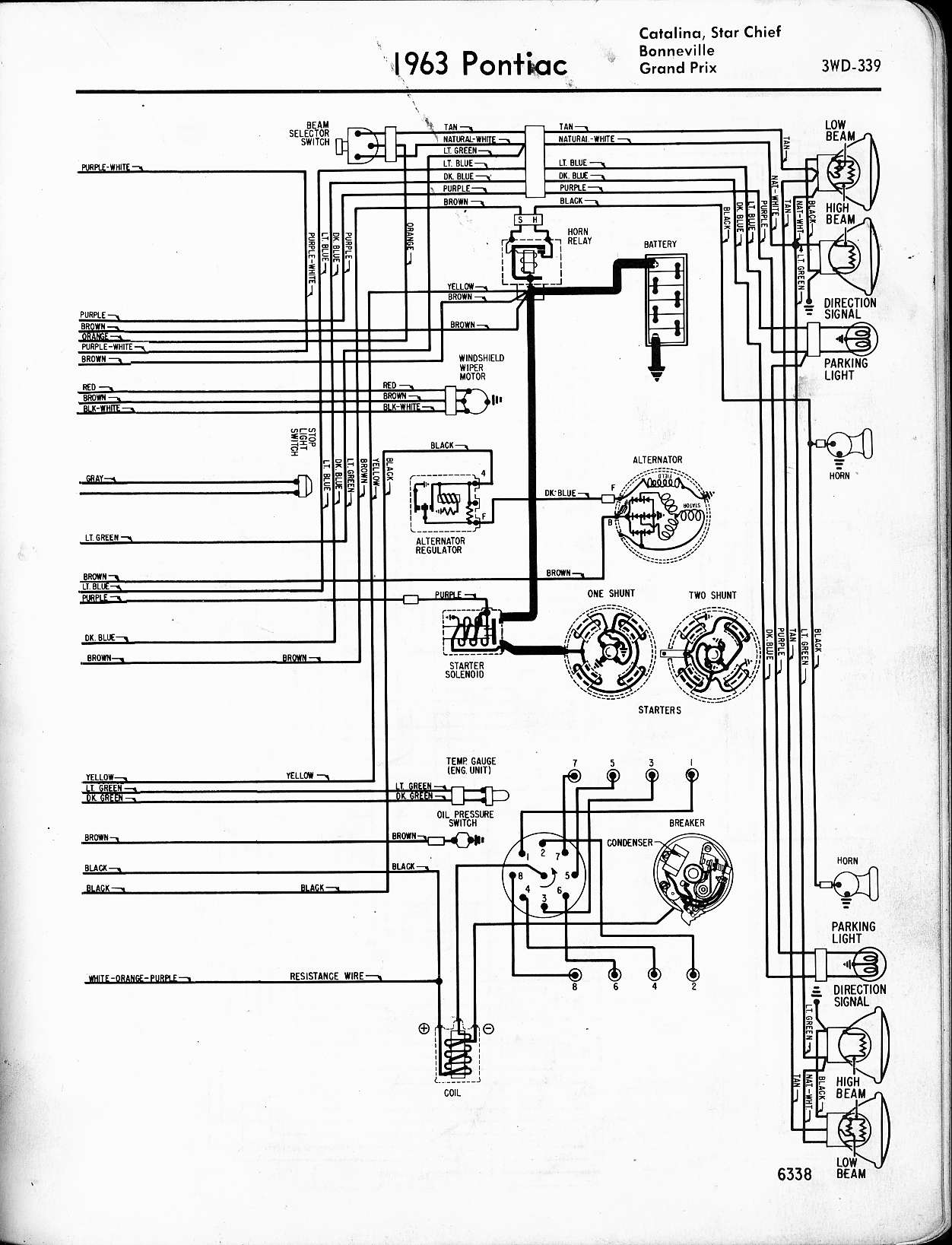 66 Gm Turn Signal Diagram