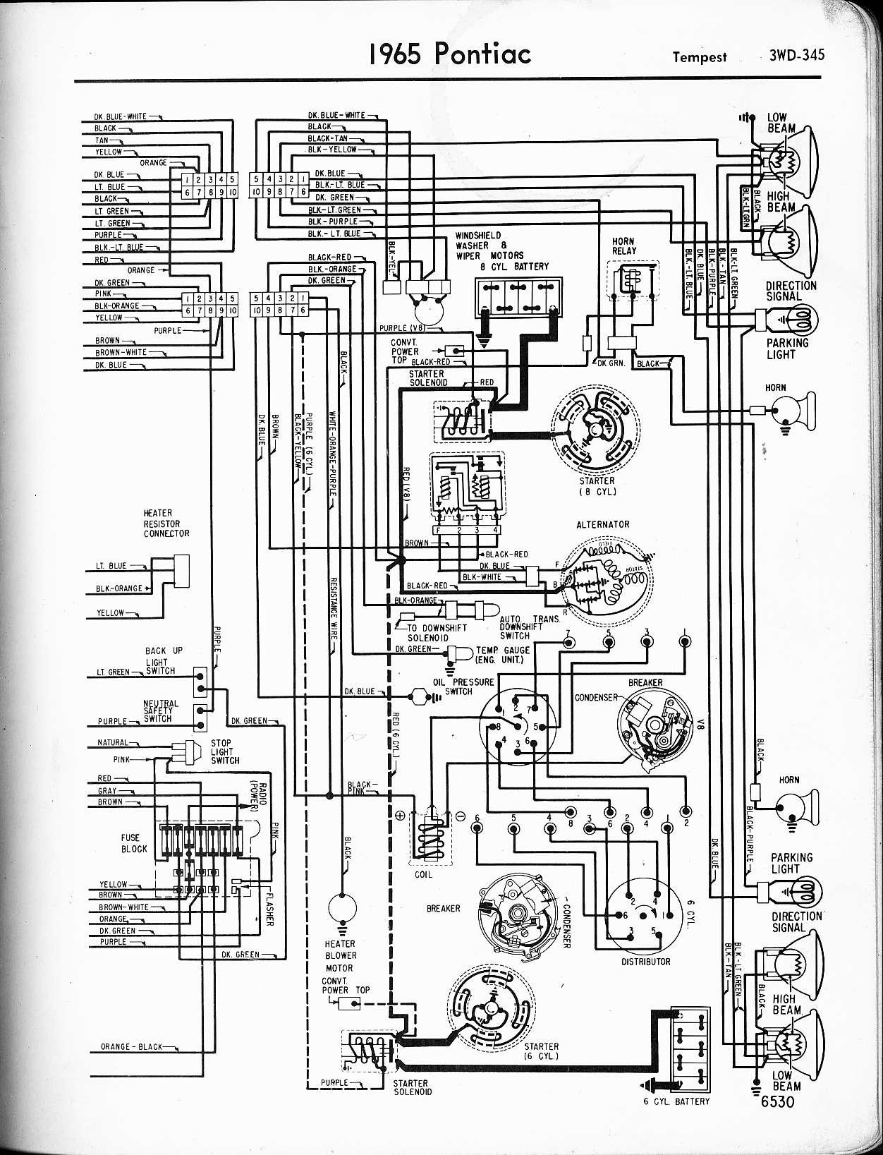 Pontiac Lemans Wiring Diagram