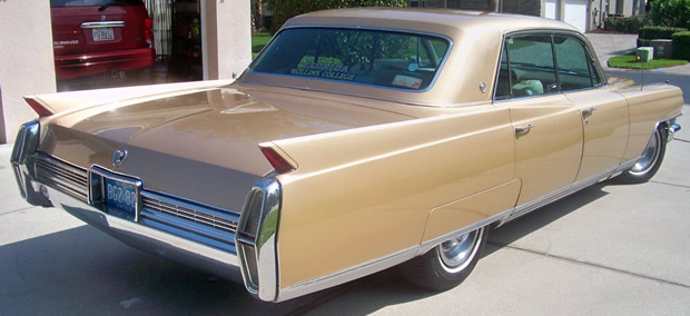 1964 Cadillac Sixty Special Fleetwood In Gold