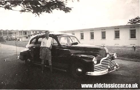 A 1940s Pontiac