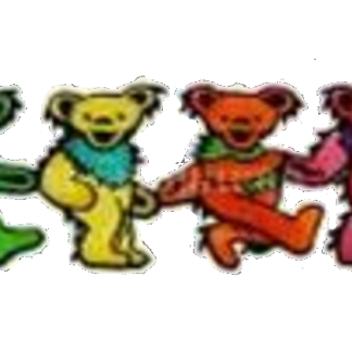 Grateful Dead 6 Dancing Bears Patch