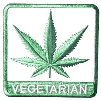 Vegetarian Cannabis patch