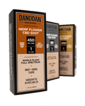 Danodan Hemp Flower Shot 1 oz 450 mg