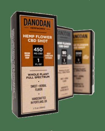 Danodan Hemp Flower Shot 1 oz 450 mg
