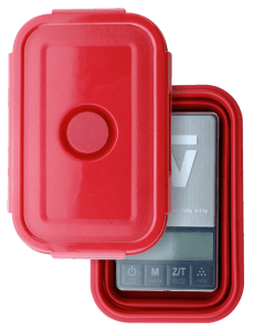 Truweigh Crimson Collapsible Bowl and Scale