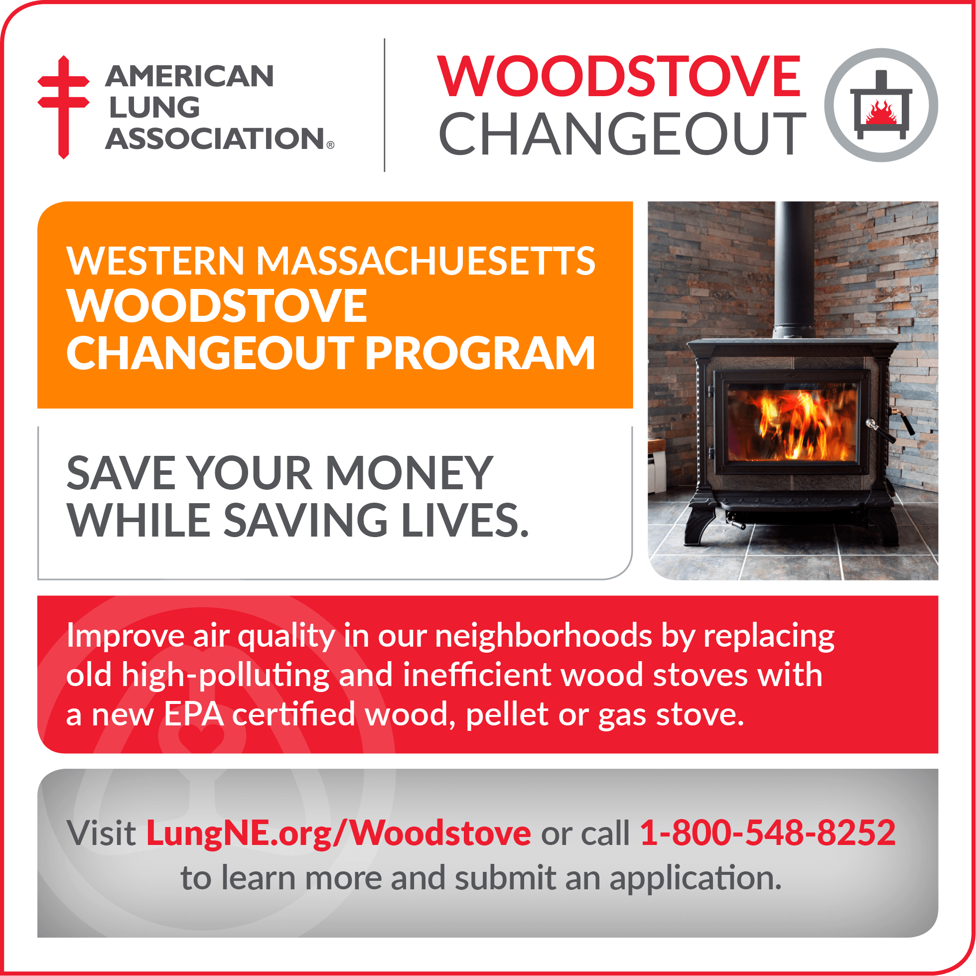 Woodstove Changeout Program Launches In Western Massachusetts
