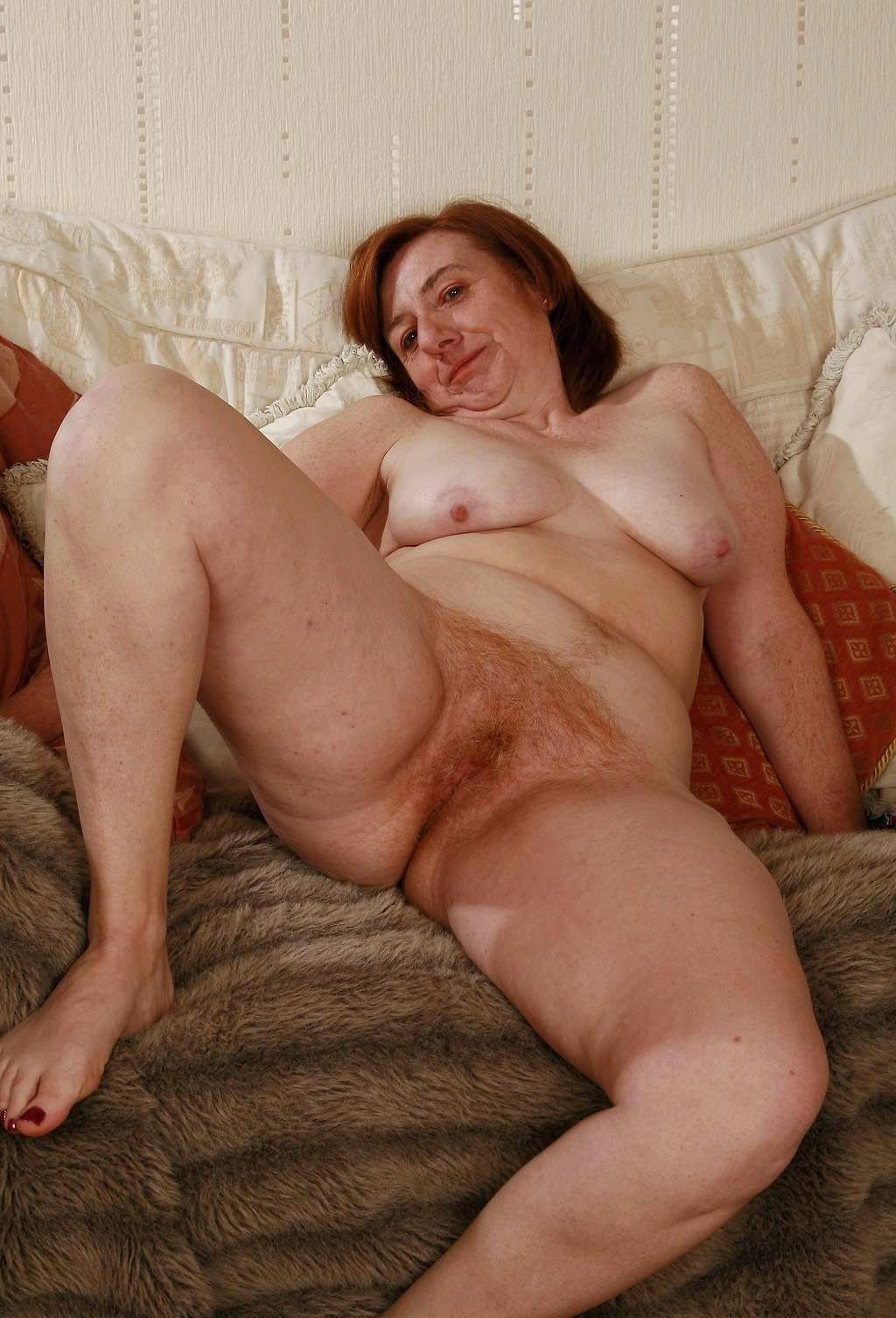 Mature Redhead Porn Lady Hairy Photo