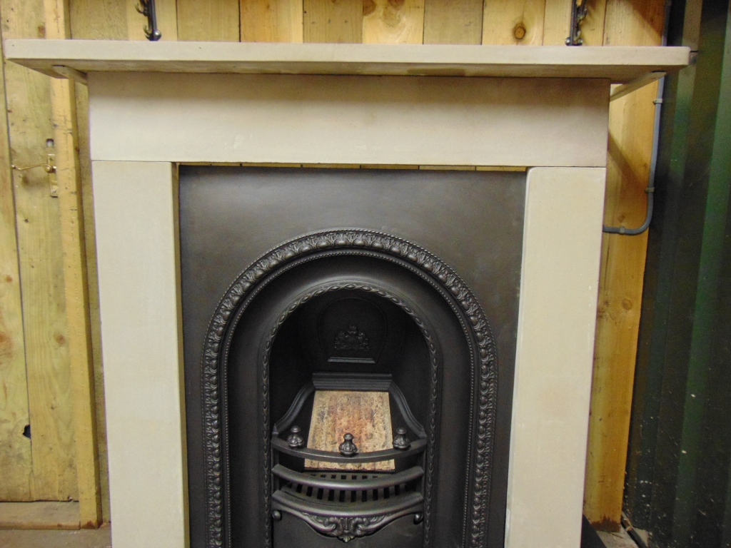 227SS 1580 Victorian Stone Fire Surround Old Fireplaces