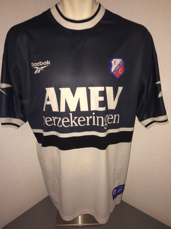 fc utrecht fora camisa de futebol 1997