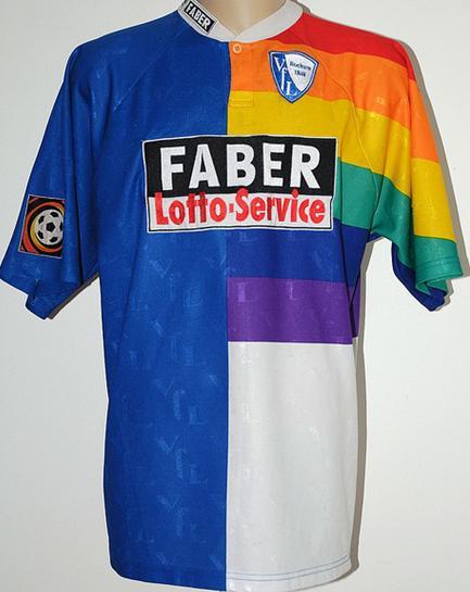 old football shirts