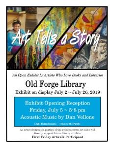 """Art Tells a Story"" Exhibit First Friday Artwalk Reception"