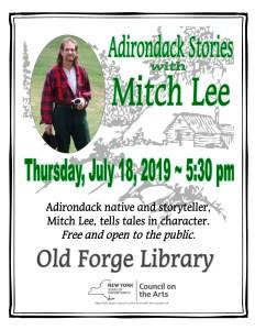 Adirondack Stories with Mitch Lee